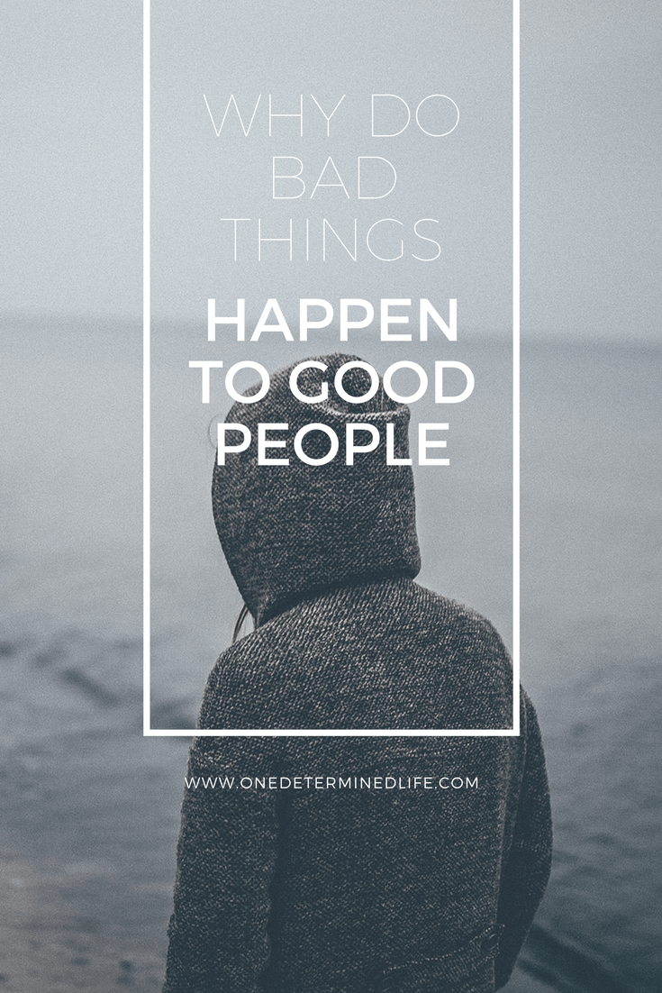 """why people do bad thing A better question is this: """"why does god allow good things to happen to bad people"""" with reasons known only to god, he demonstrated his own love for us in that """"while we were still sinners, christ died for us."""